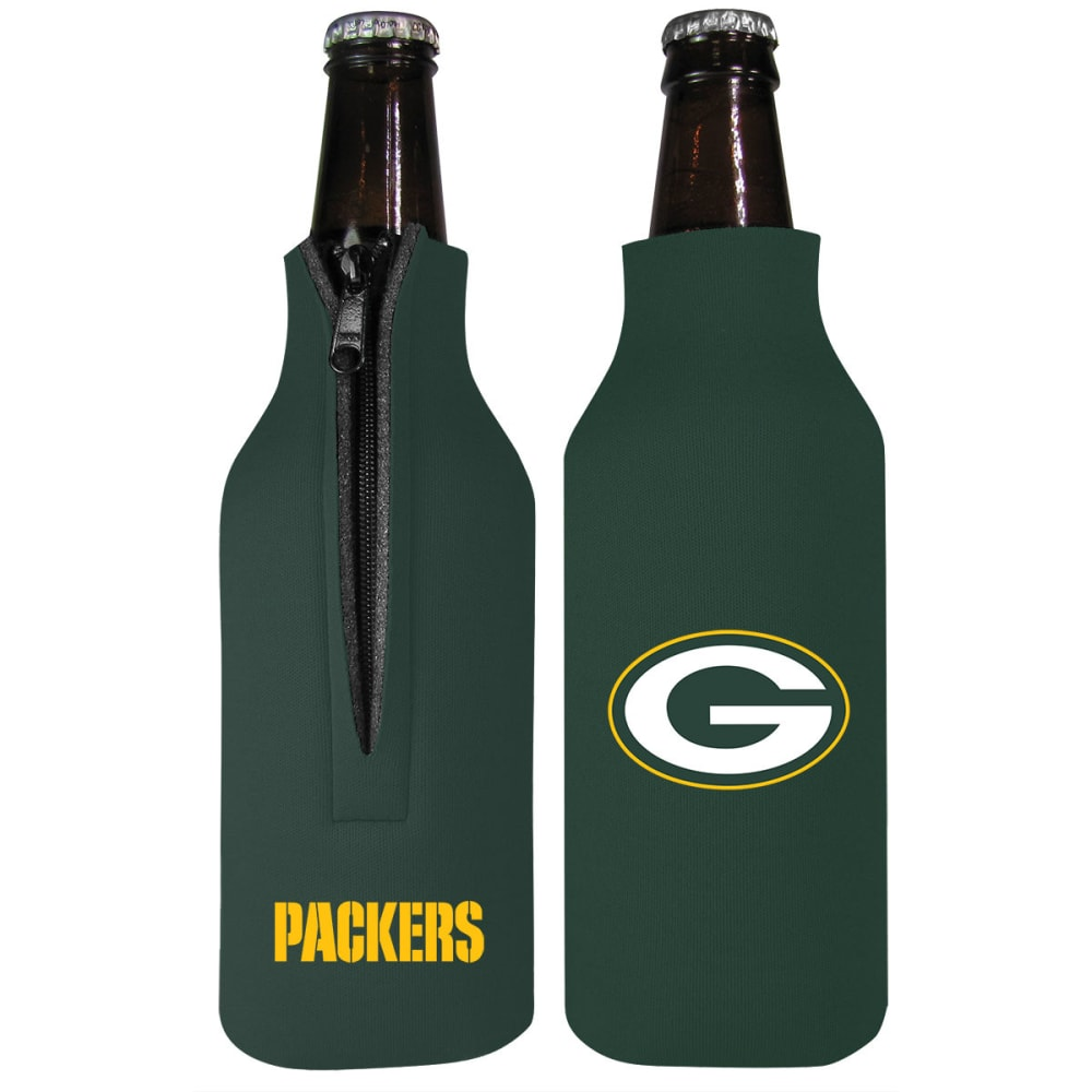 GREEN BAY PACKERS Bottle Insulator - GREEN