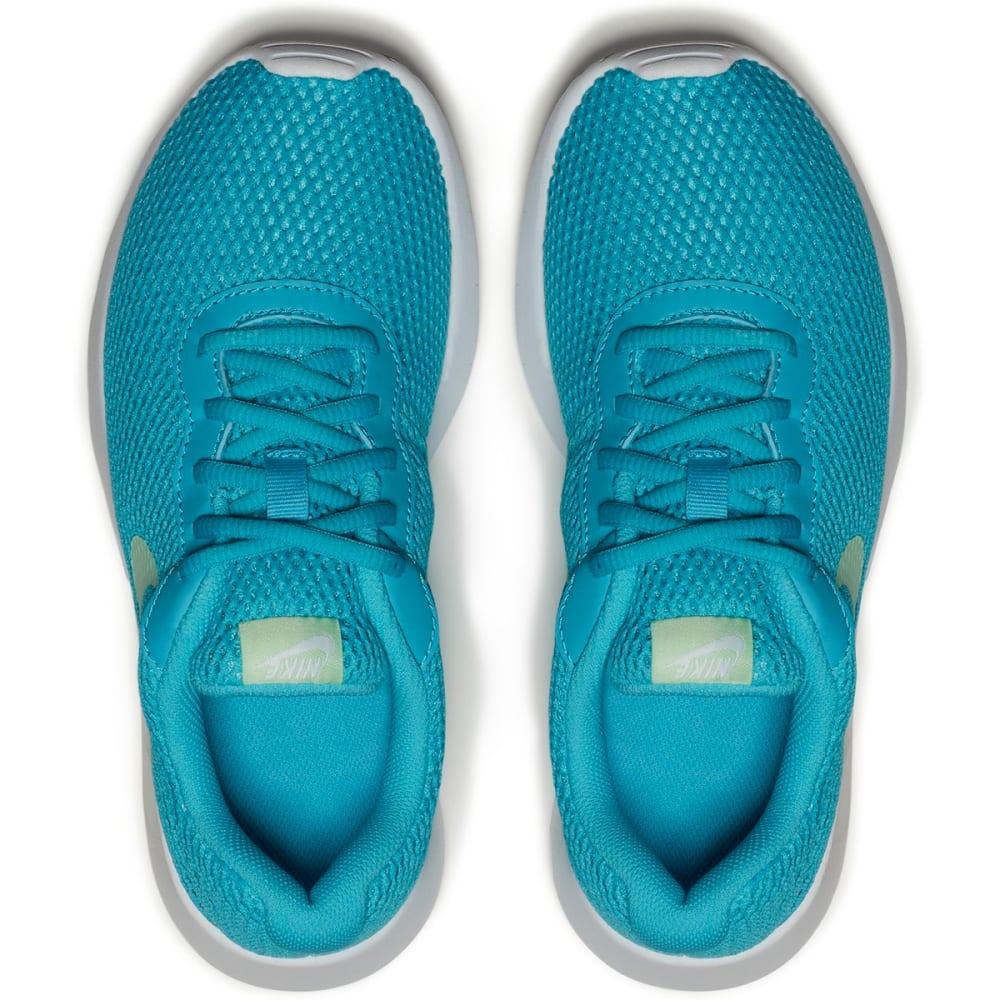 NIKE Girls' Tanjun BR Running Shoes - CHLORINEBLU/MINT/WHT