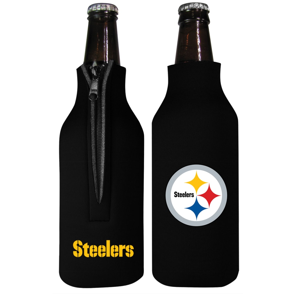 PITTSBURGH STEELERS Bottle Insulator - BLACK