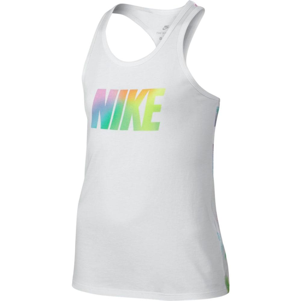 NIKE Girls' Rainbow Brush Tank S