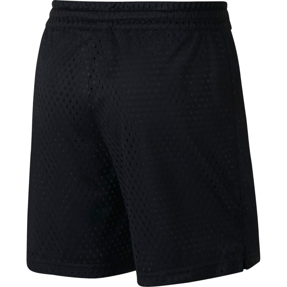 NIKE Kids' Dry Training Shorts - BLACK/WHITE-010