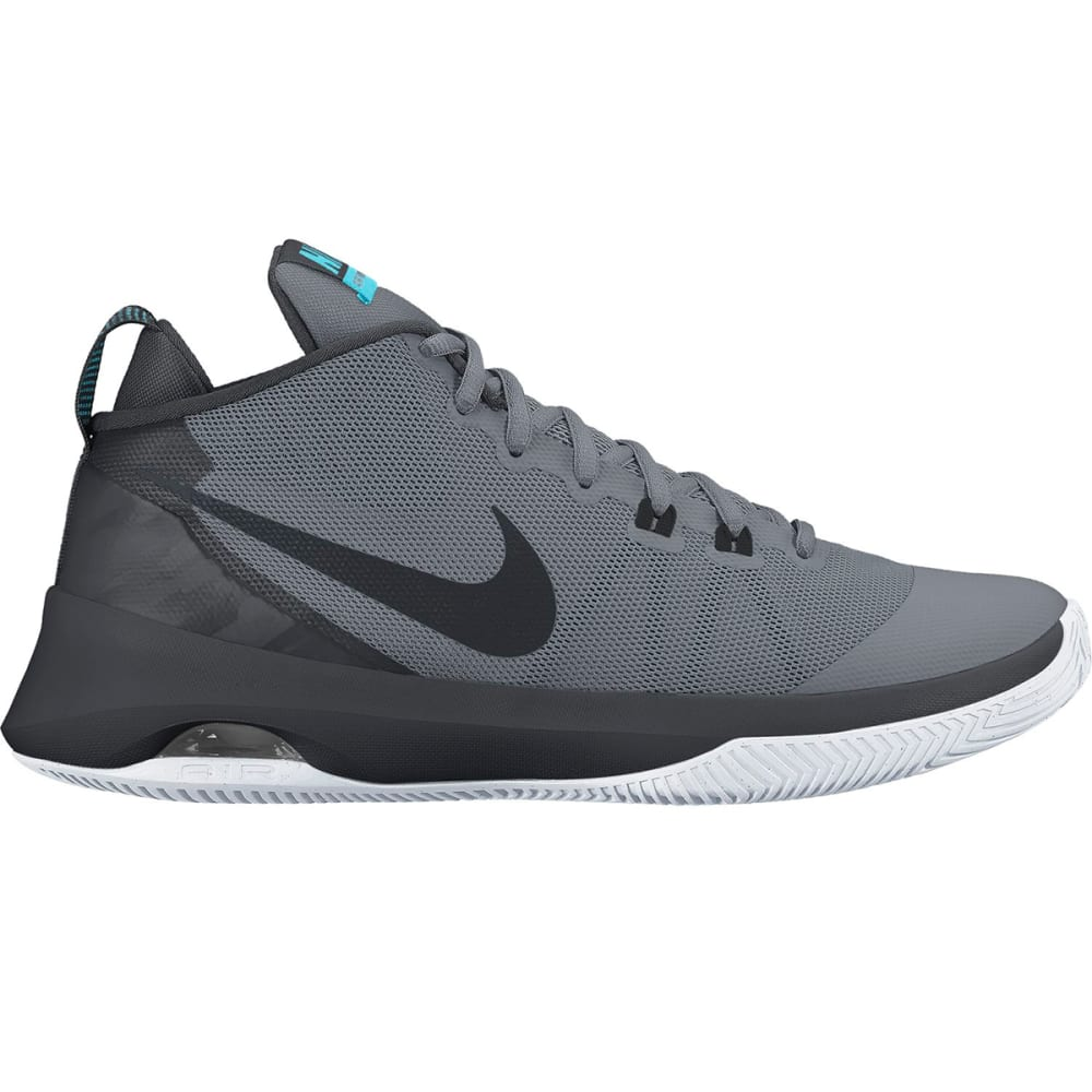 NIKE Men's Air Versatile Basketball Shoes - COOL GREY
