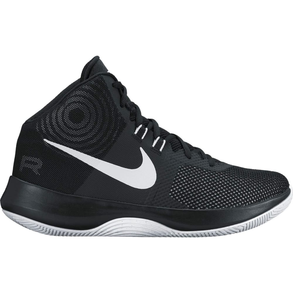 NIKE Men's Air Precision Basketball Shoes - BLACK