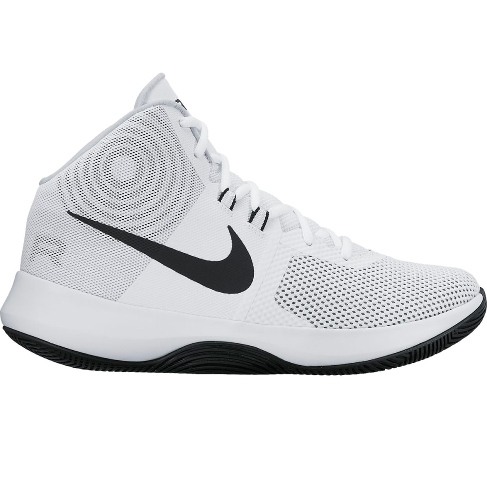 NIKE Men's Air Precision Basketball Shoes - WHITE