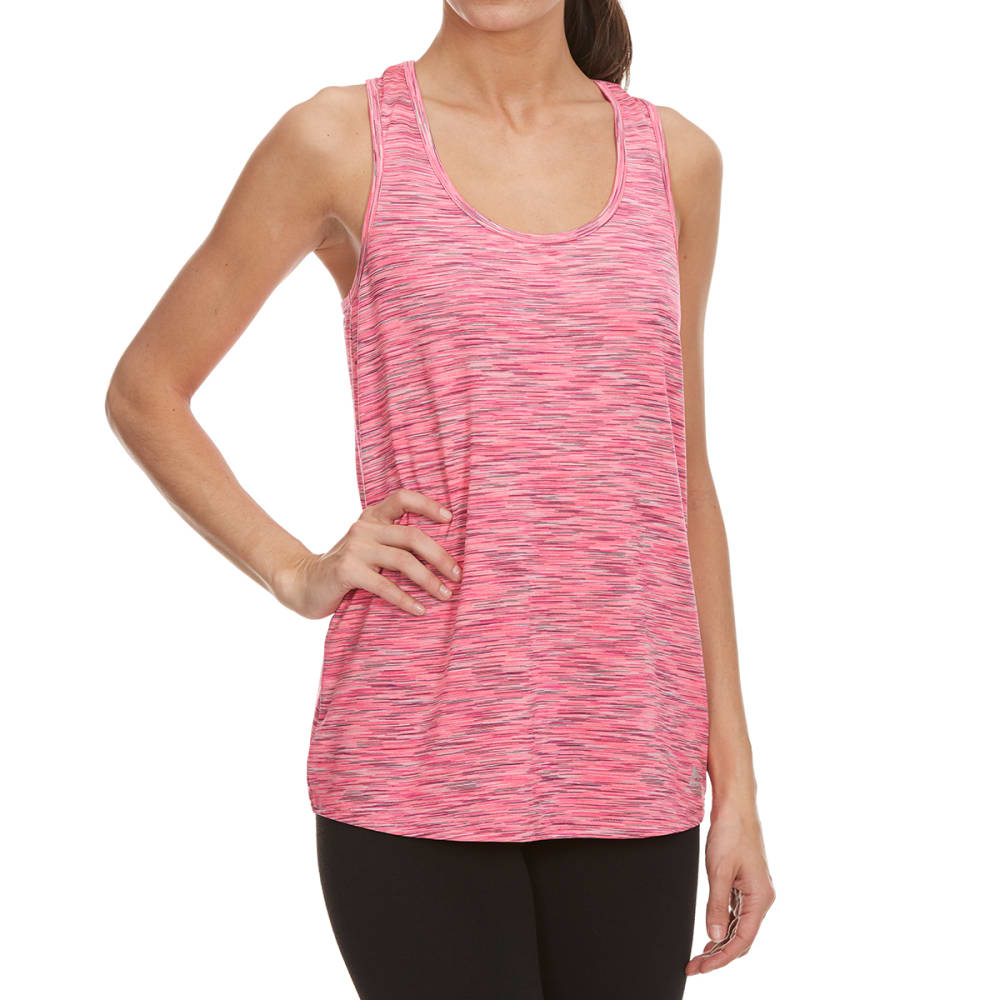 RBX Women's Multi Space-Dye Racerback Tank Top - HAWAIIAN PNK