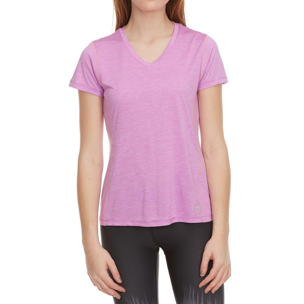 RBX Women's Space-Dye Poly Jersey Short-Sleeve Tee S