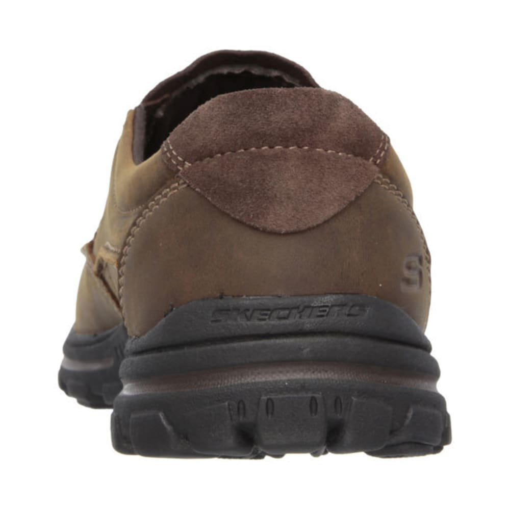 SKECHERS Men's Relaxed Fit: Braver – Rayland Shoes - BROWN