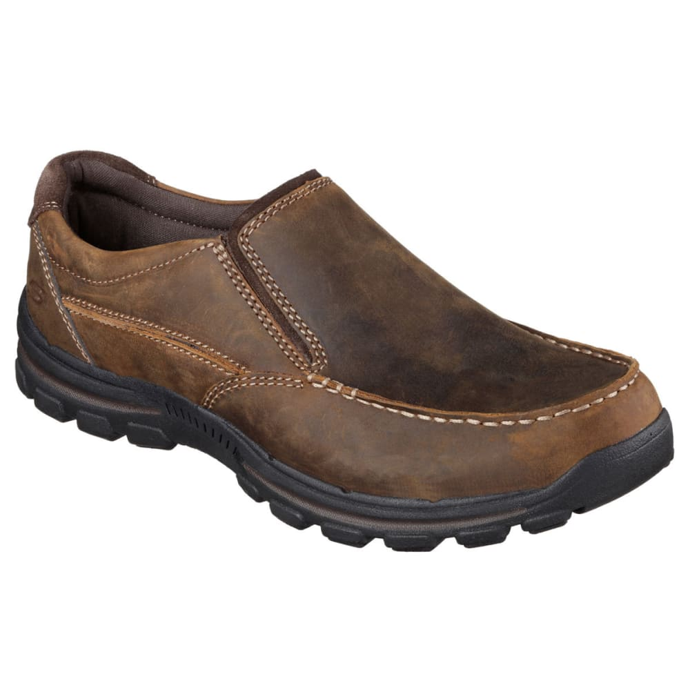 Skechers Men's Relaxed Fit: Braver -  Rayland Shoes - Brown, 8