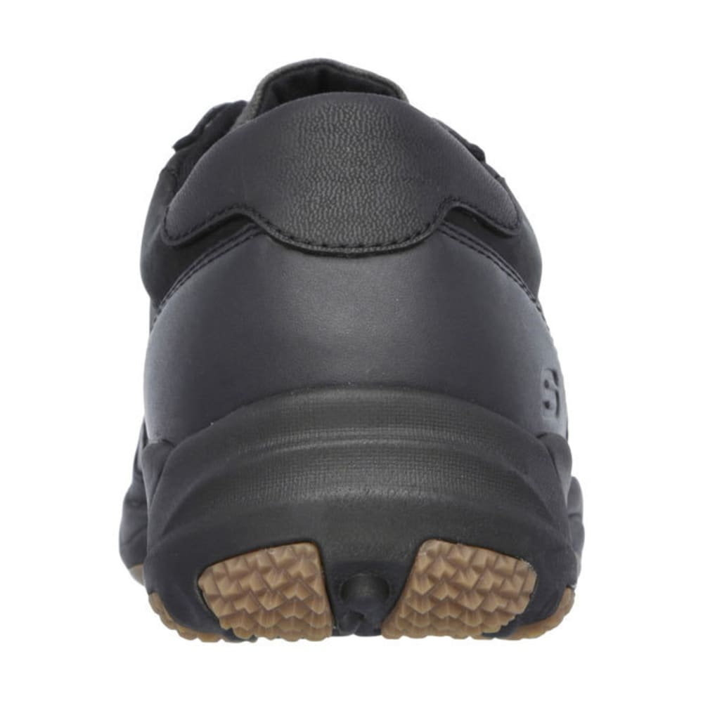 SKECHERS Men's Relaxed Fit: Larson - Nerick Shoes - BLACK
