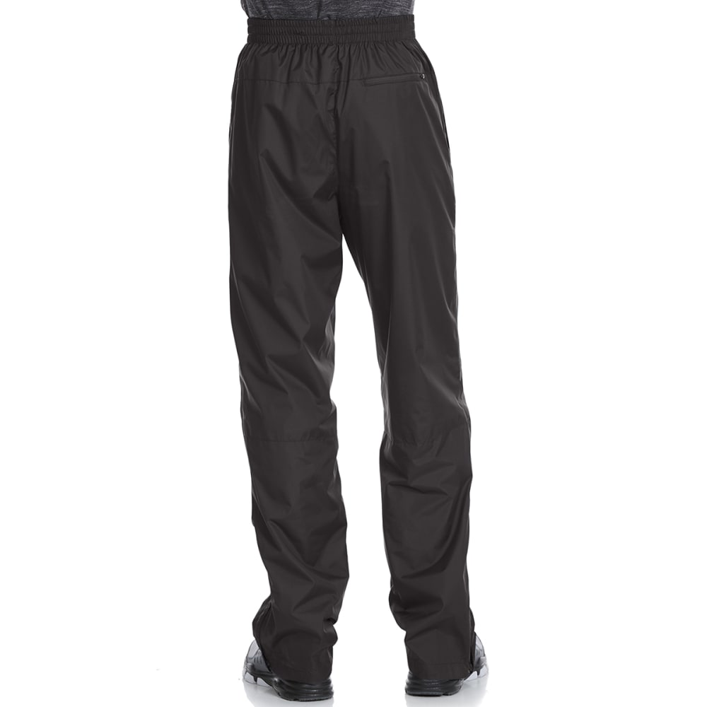 NEW BALANCE Men's Wind Pants with Mesh Trim - BLACK-BK001
