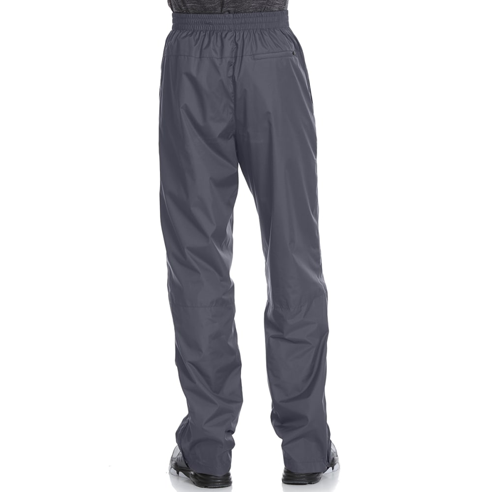 NEW BALANCE Men's Wind Pants with Mesh Trim - LEAD GREY