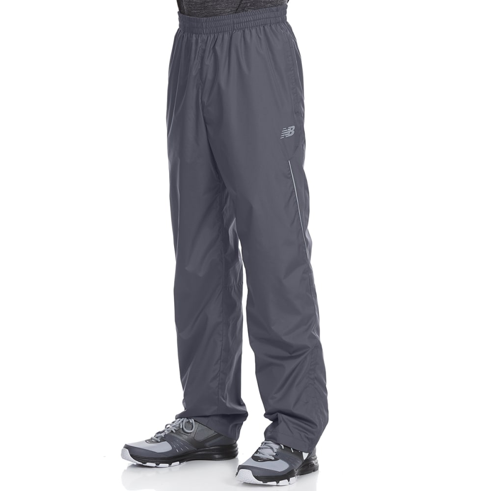 NEW BALANCE Men's Wind Pants with Mesh Trim S