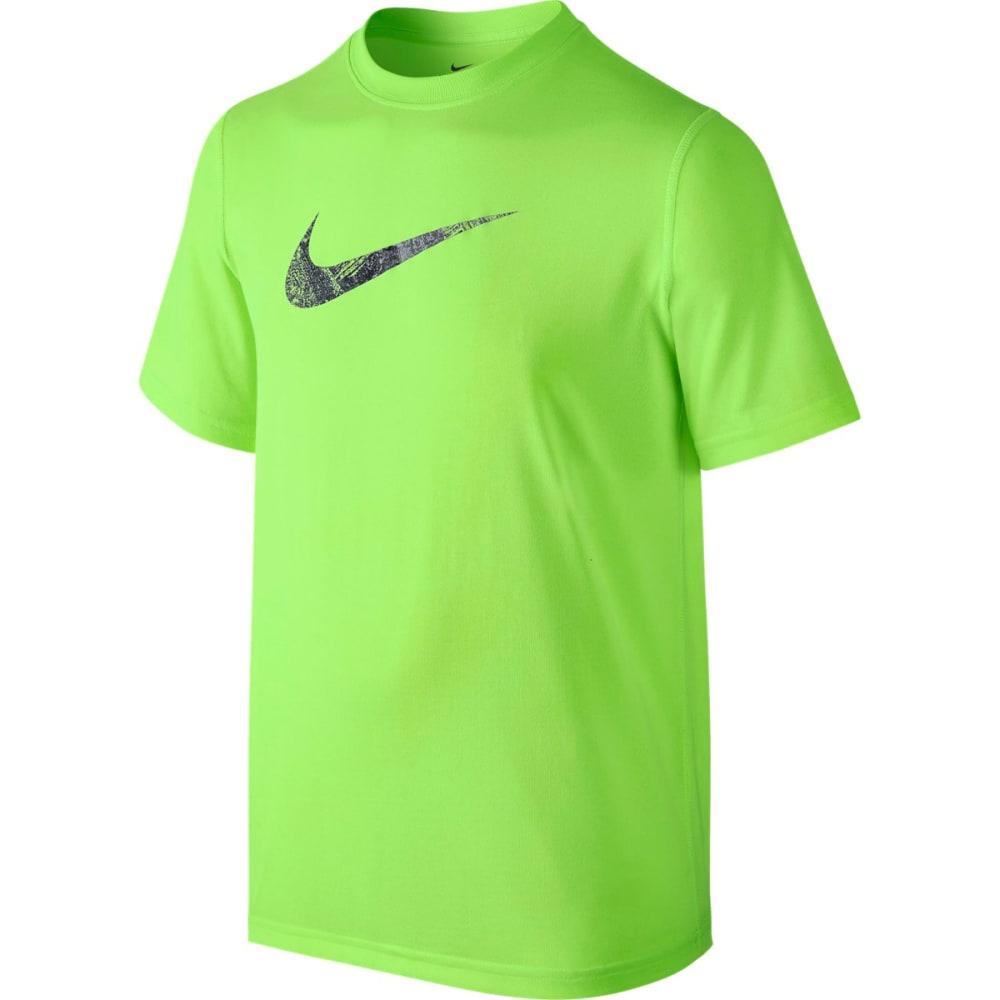 NIKE Boys' Carbon Swoosh Dry T-Shirt S