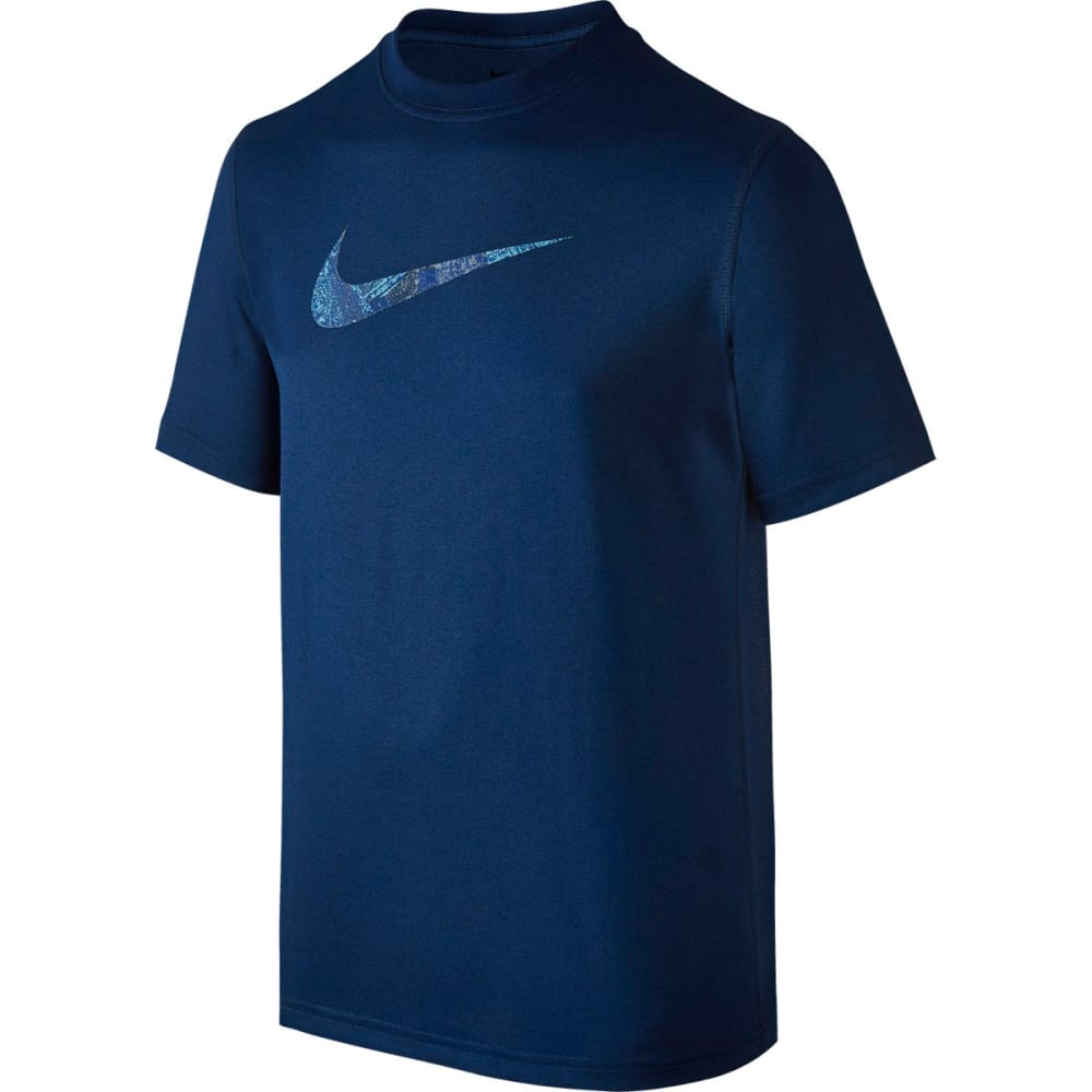 NIKE Boys' Carbon Swoosh Dry T-Shirt M