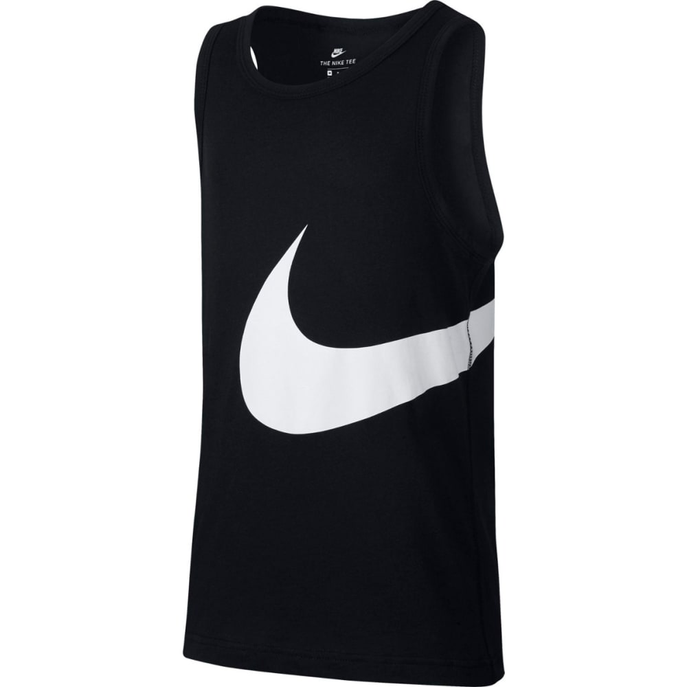 NIKE Boys' Big Swoosh Tank Top L