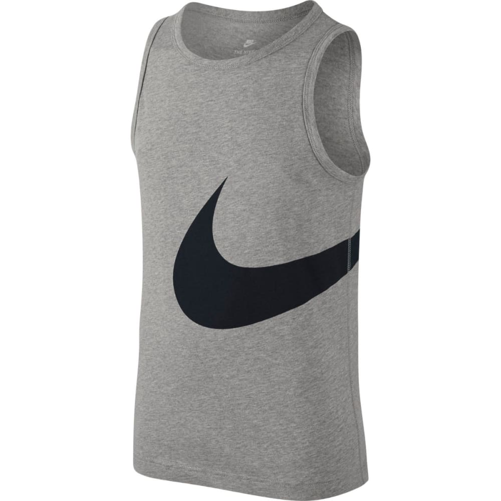 NIKE Boys' Big Swoosh Tank Top M