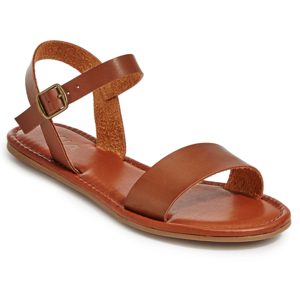 MIA Women's Tia Sandals, Cognac - COGNAC