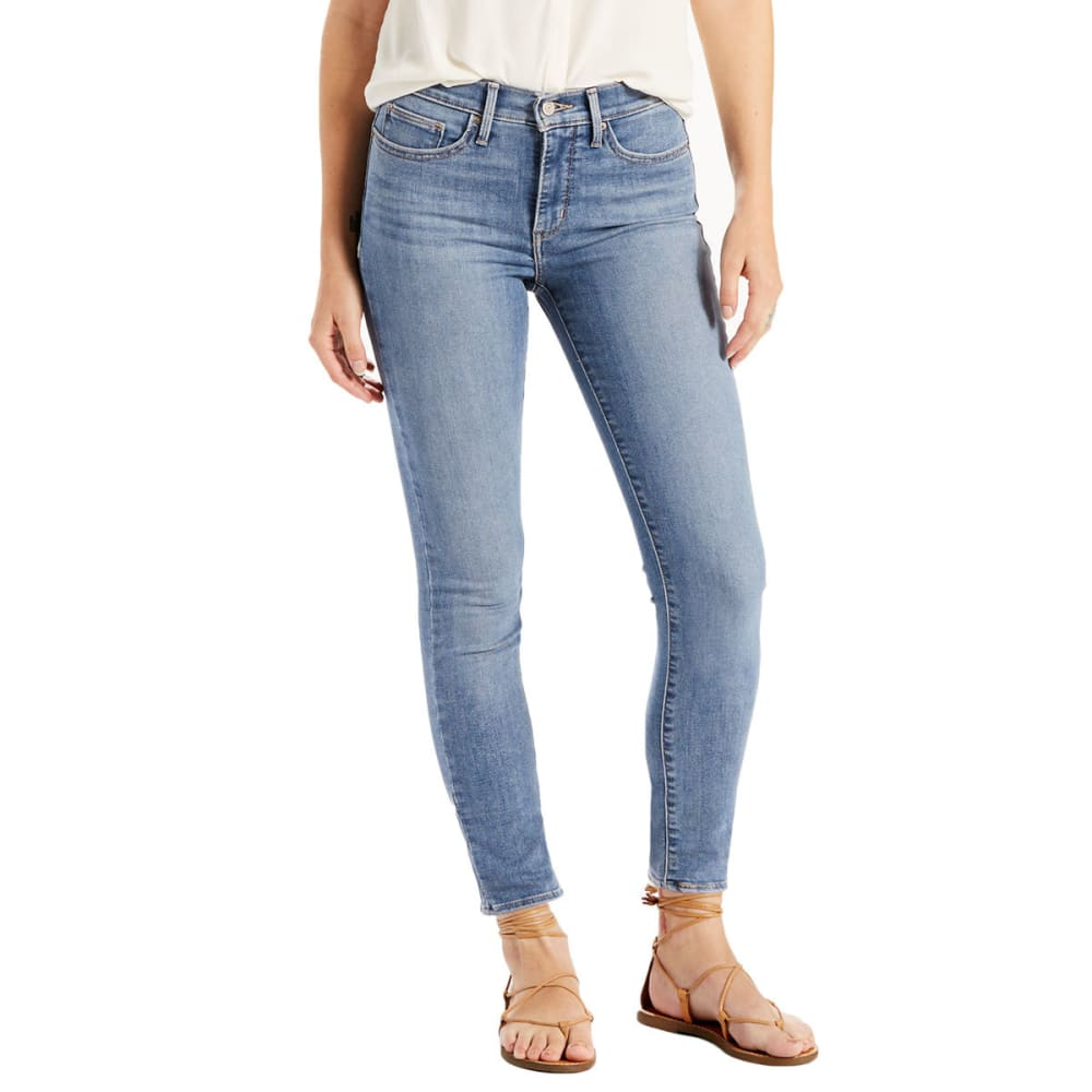 LEVI'S Women's Slimming Ankle Skinny Jeans - 0002-COOL MONTE VERD