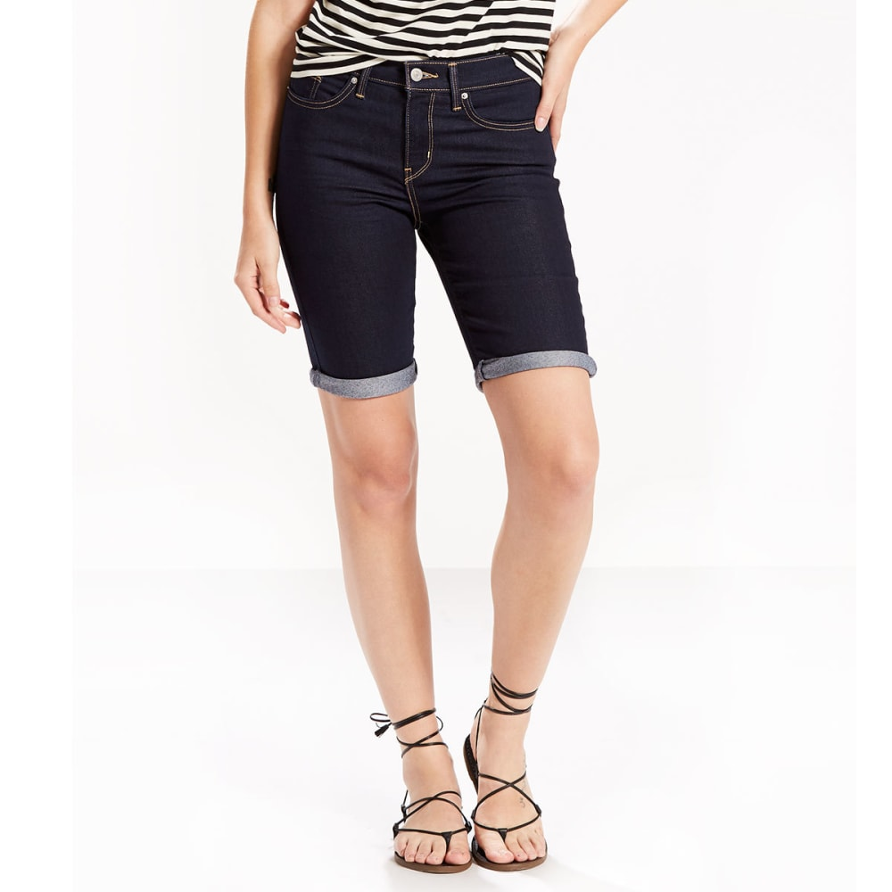 LEVI'S Women's Bermuda Shorts - 0000-DARKEST SKY
