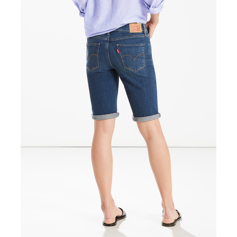 LEVI'S Women's Bermuda Shorts - 0007-SHORE BOULEVARD