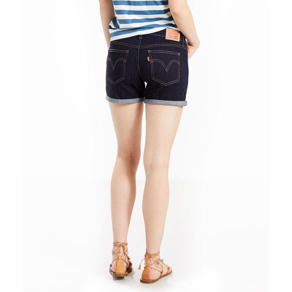 LEVI'S Women's Mid-Length Shorts - 0000-SEASIDE COVE