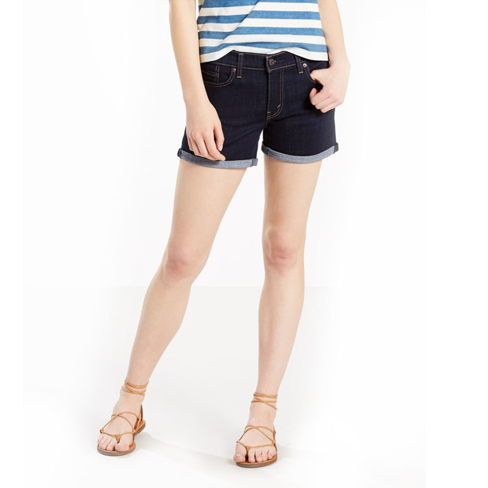 LEVI'S Women's Mid-Length Shorts - 0000-SEASIDE COVE