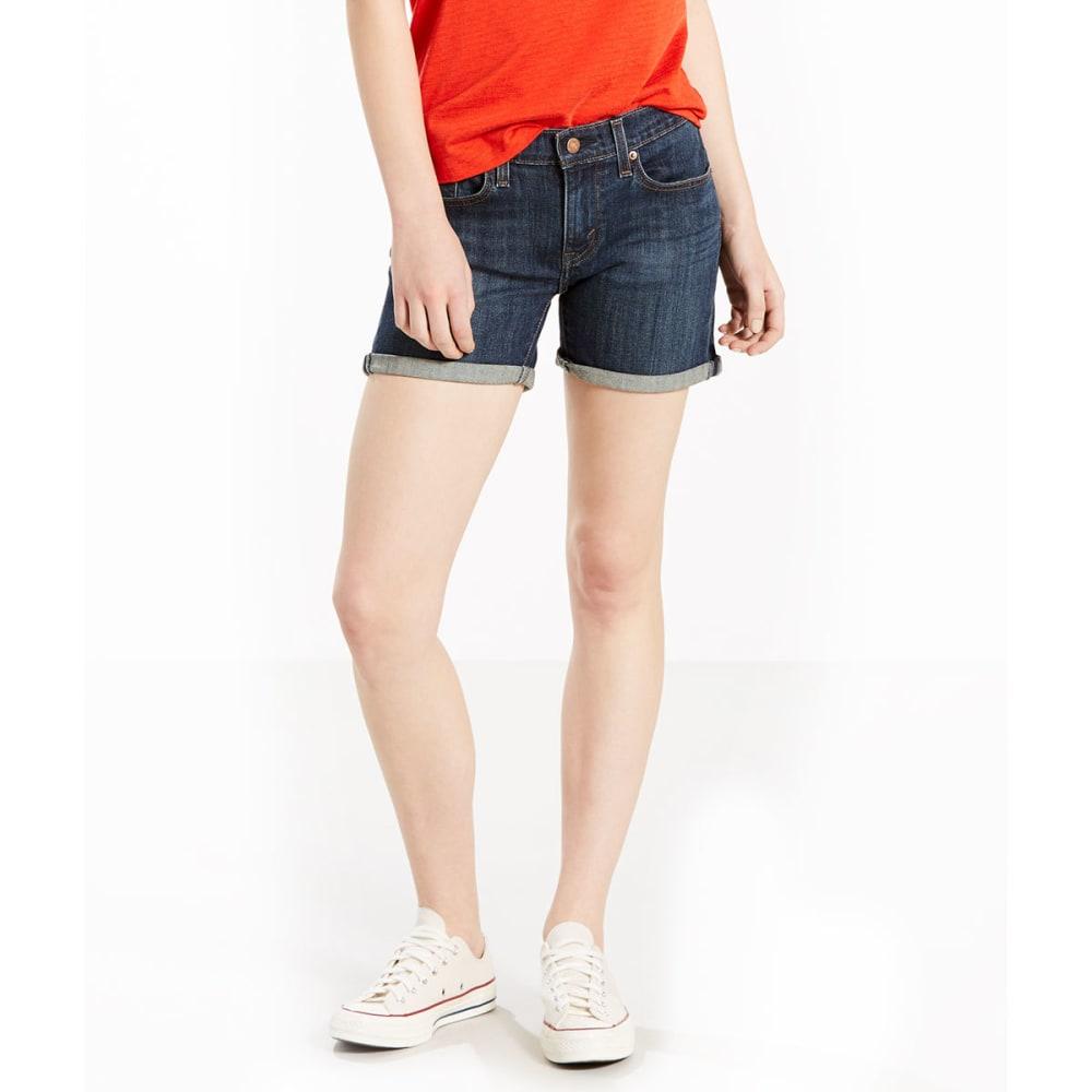 LEVI'S Women's Mid-Length Shorts - 0001-WARMER DAYS