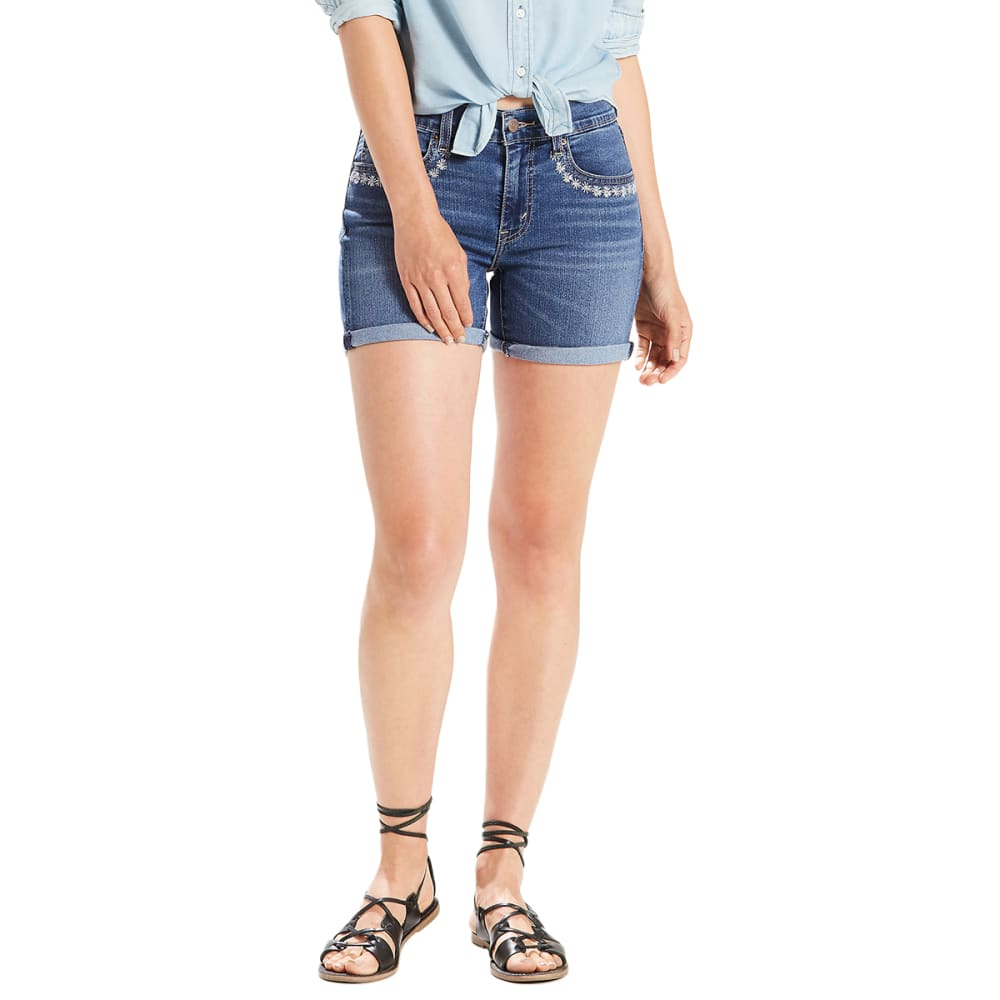 LEVI'S Women's Mid-Length Shorts - 0014-WILDWOOD LANE
