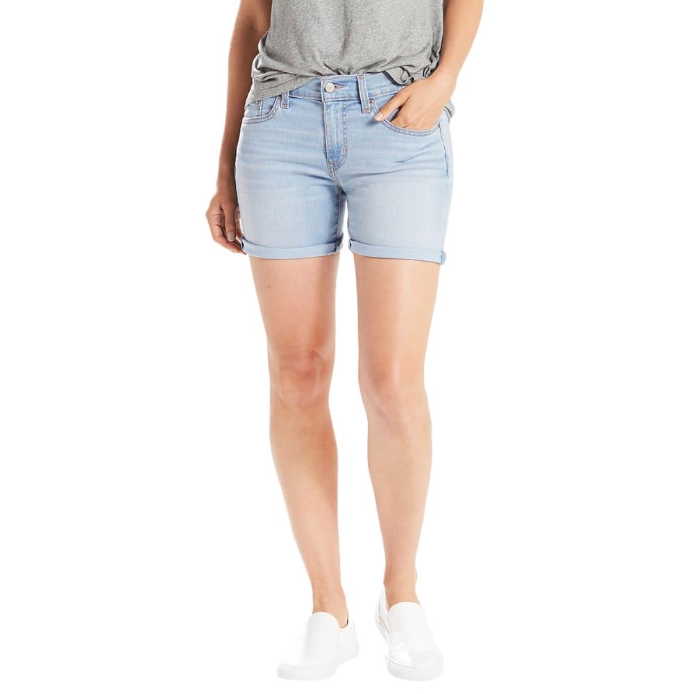 LEVI'S Women's Mid-Length Shorts - 0015-SWEETEST INDIGO