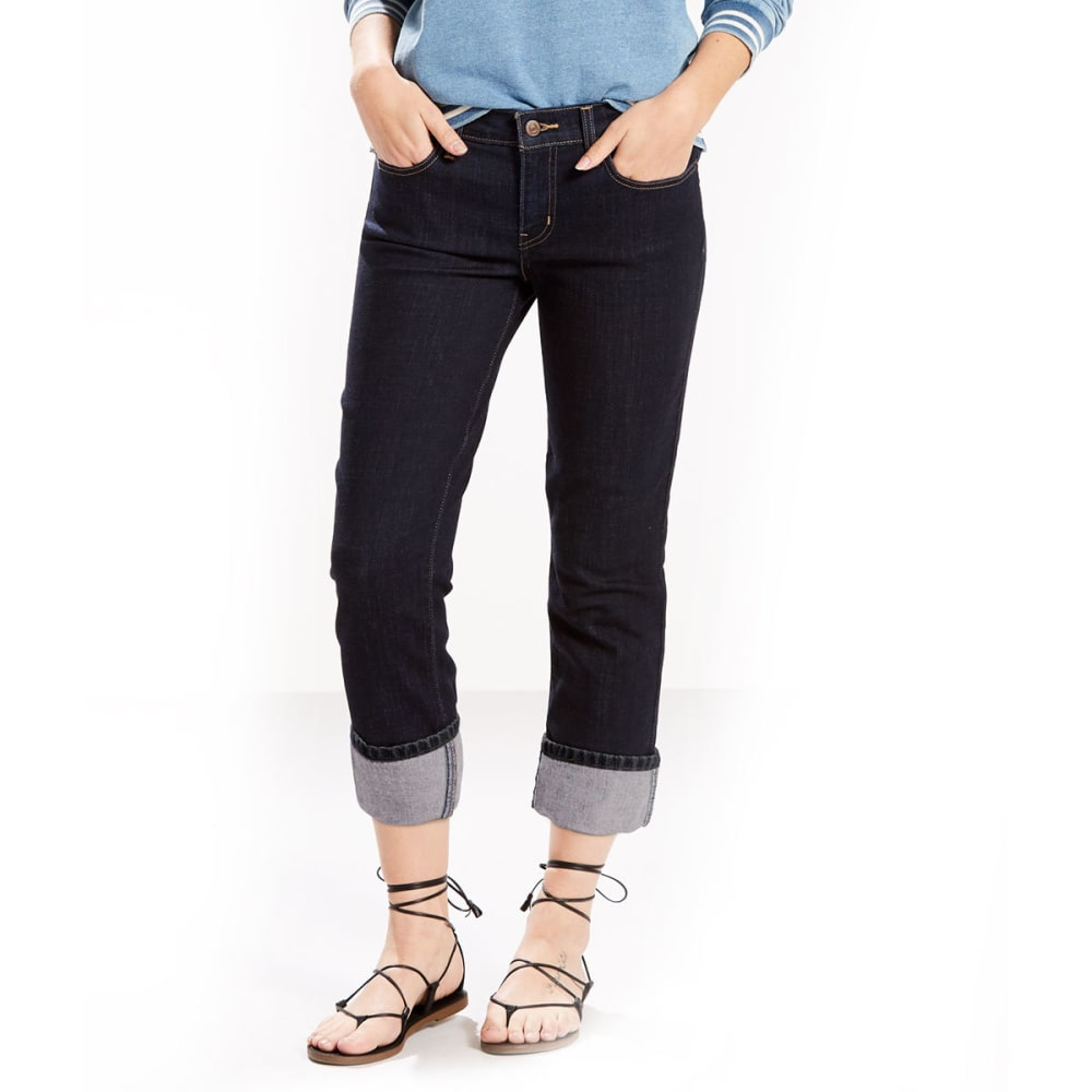 LEVI'S Women's Classic Capri Pants - 0020-SEASIDE COVE