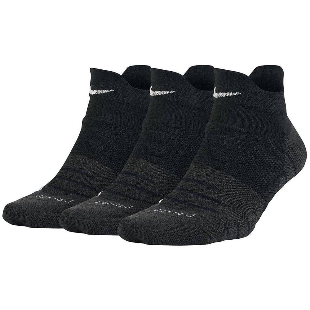 NIKE Women's Dry Cushion Low Training Socks, 3 Pairs S