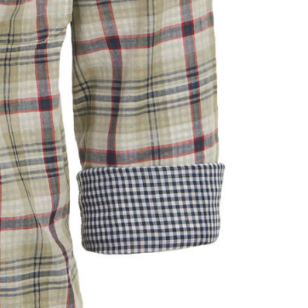 WOOLRICH Men's Weekend Eco Rich Double Weave Shirt, Modern Fit - GRASSLAND