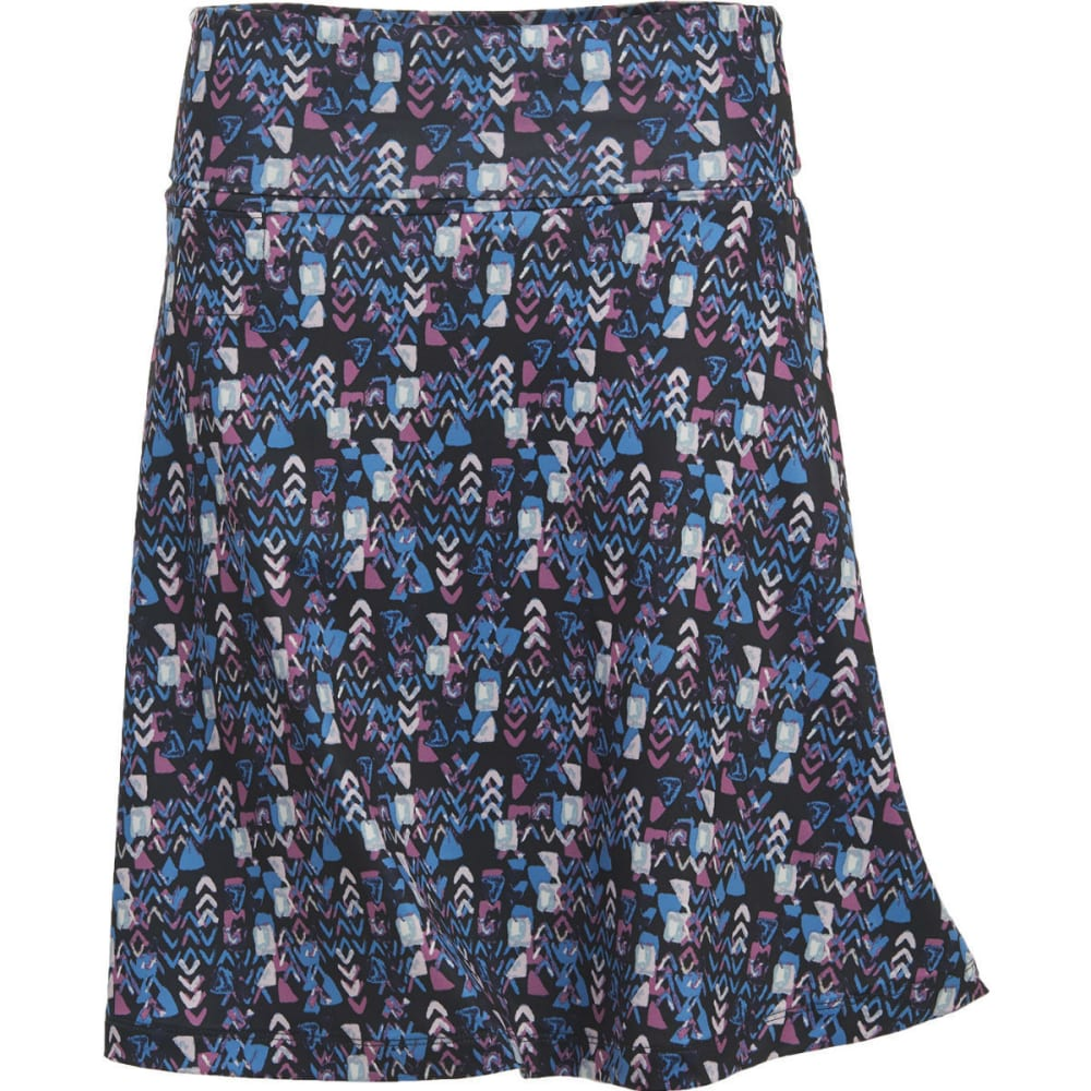 WOOLRICH Women's Rendezvous Printed Skirt - NAVY