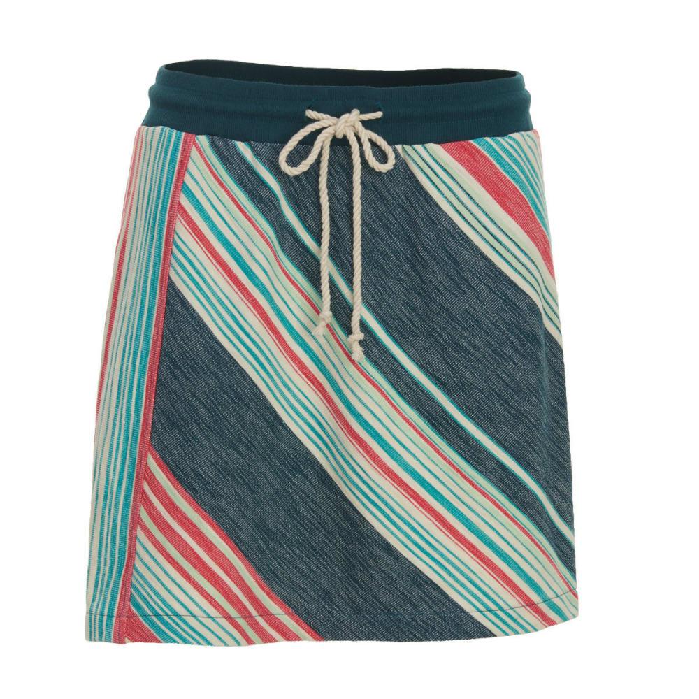 WOOLRICH Women's Quinn River Eco Rich Skirt - HARBOR