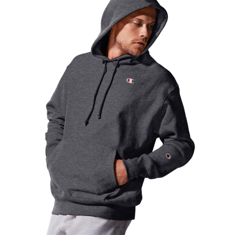 CHAMPION Men's LIFE Reverse Weave Pullover Hoodie - GRANITE HTR-0OC