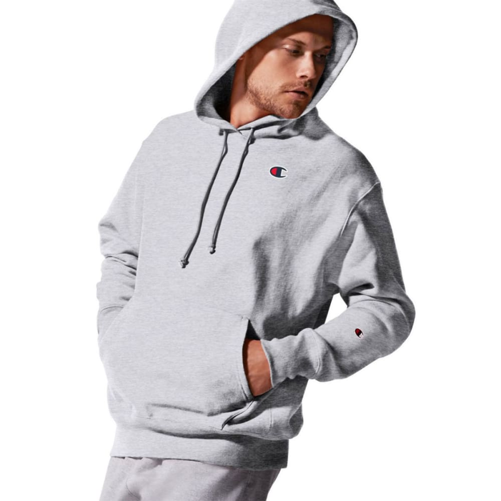 CHAMPION Men's LIFE Reverse Weave Pullover Hoodie - SILVER GREY-GFS