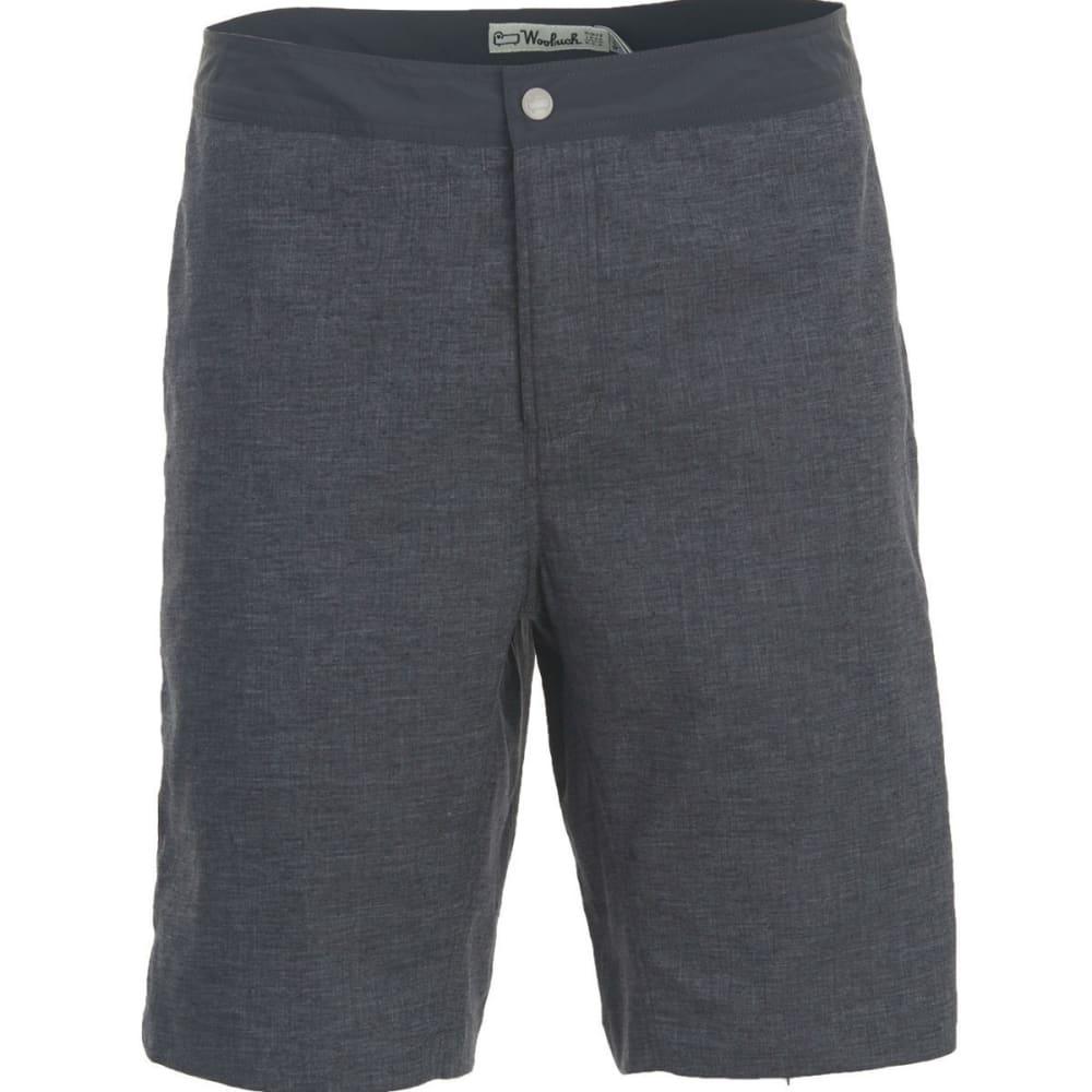 WOOLRICH Men's Eco Rich Hemp Shorts - CHARCOAL