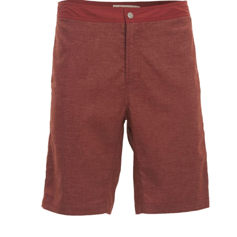 WOOLRICH Men's Eco Rich Hemp Shorts - BRICK RED