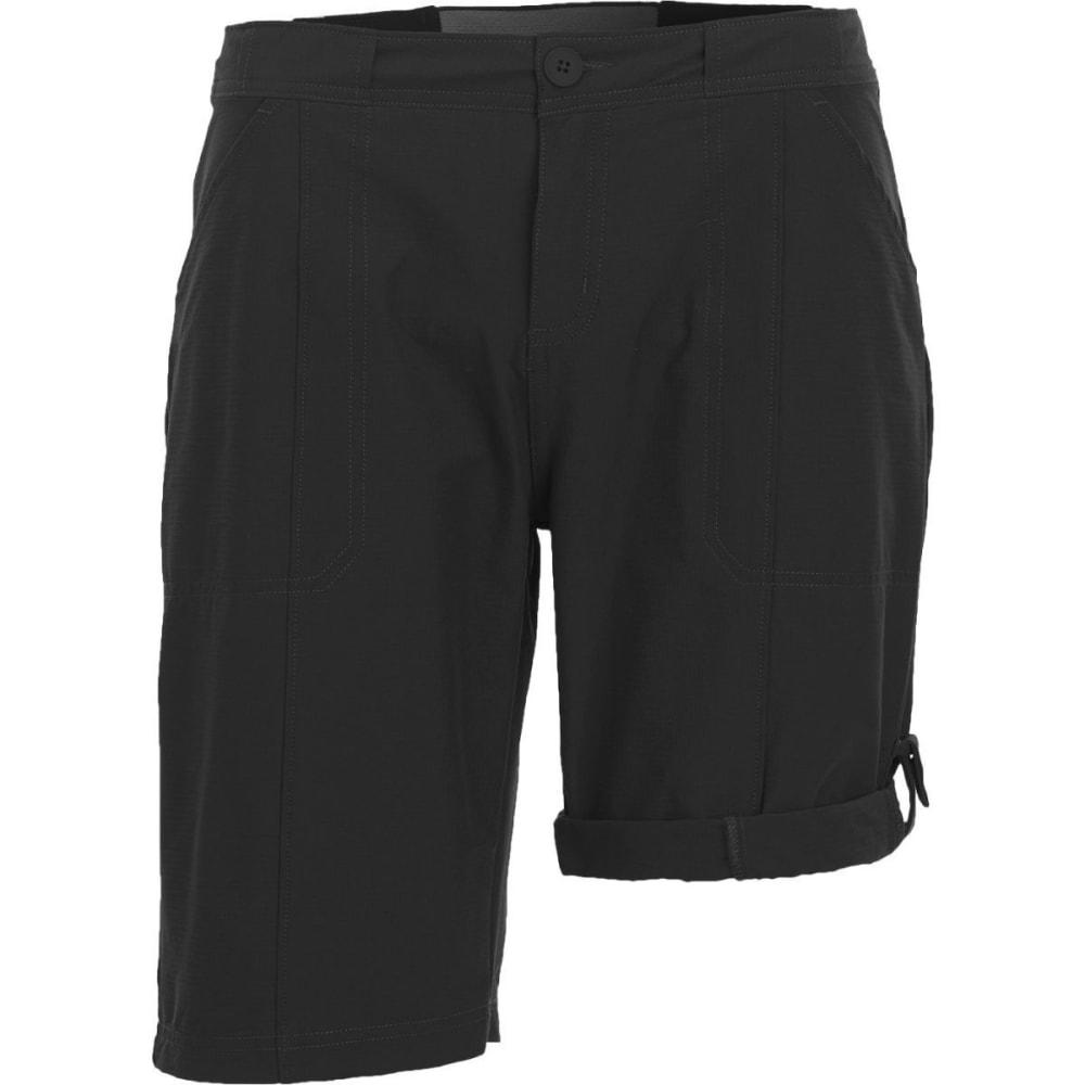 WOOLRICH Women's Daring Trail Convertible Shorts - BLACK