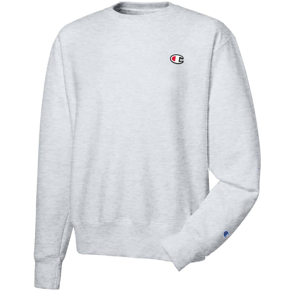CHAMPION Men's LIFE Reverse Weave Crewneck Sweatshirt - SILVER GREY-GFS