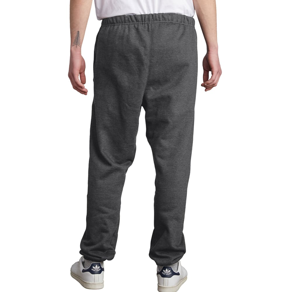 CHAMPION Men's LIFE Reverse Weave Closed-Bottom Sweatpants - GRANITE HTHR-0OC