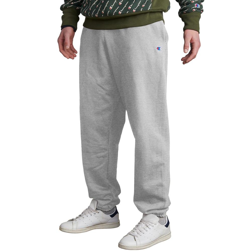 CHAMPION Men's LIFE Reverse Weave Closed-Bottom Sweatpants M