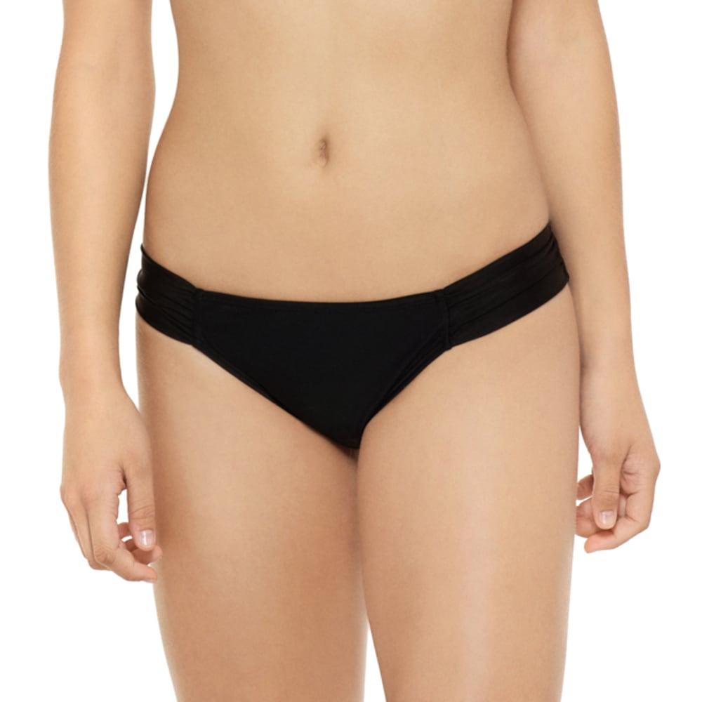 HOT WATER Juniors' Ocean Ave Soft Tab Bikini Bottoms S