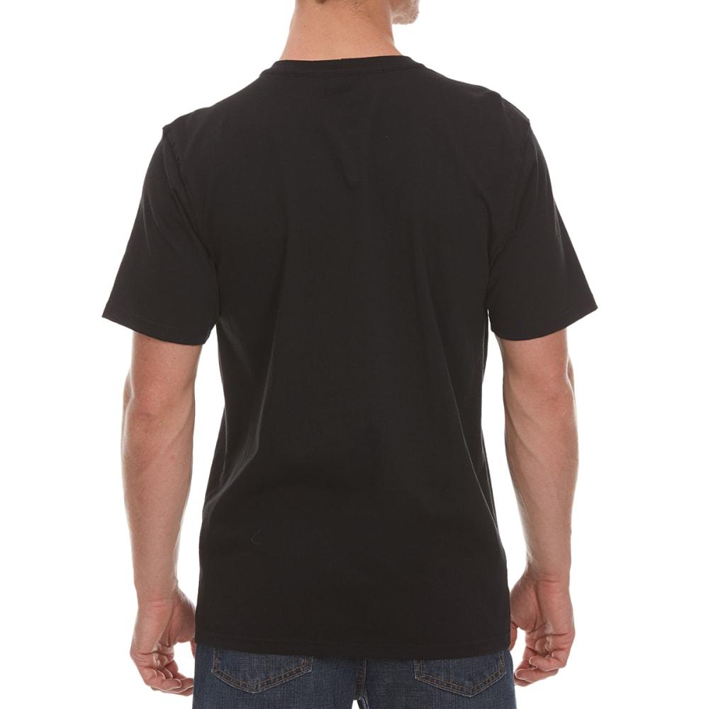 CARHARTT Men's MTO Drip Paint Americana Graphic Short-Sleeve Tee - BLACK