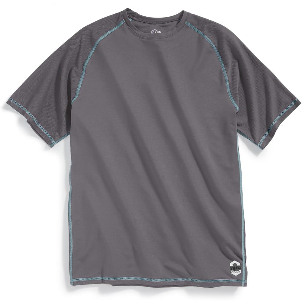 NEWPORT BLUE Men's Nailhead Short-Sleeve Rashguard Tee - SMOKE - 0033