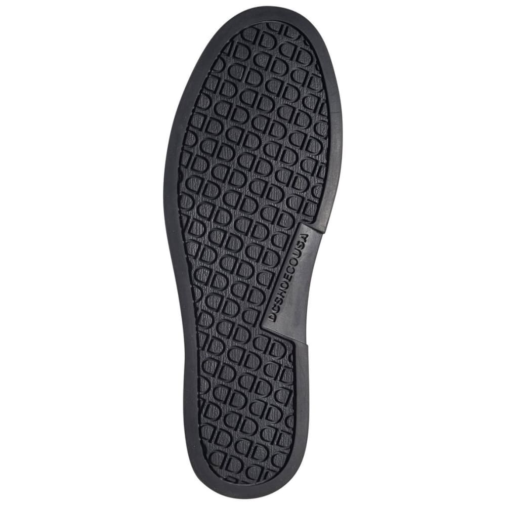 DC SHOES Men's Villain Slip-On Shoes - BLACK