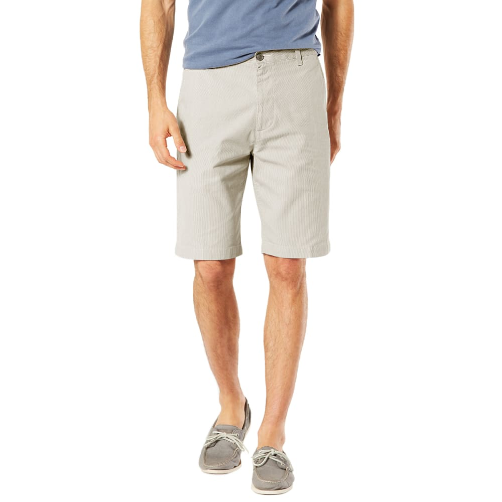 Dockers Men's Perfect Classic Flat-Front Shorts - Brown, 30