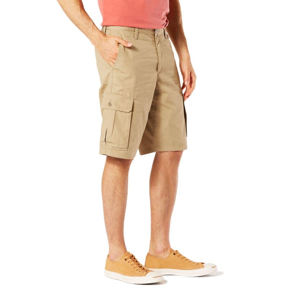 DOCKERS Men's Stretch Poplin Cargo Shorts - N BRITISH KHAKI-0001