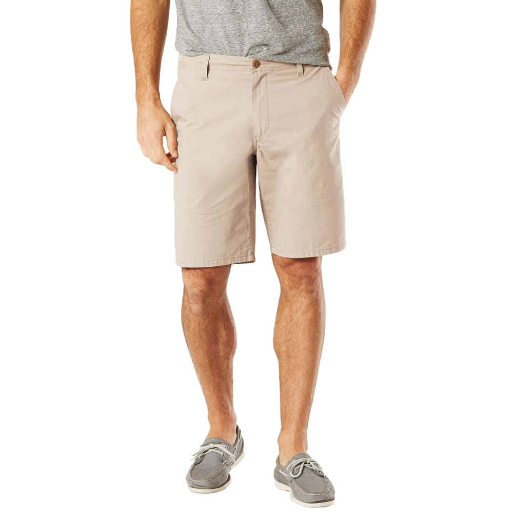 Dockers Men's Pacific Straight-Fit Shorts - Brown, 32