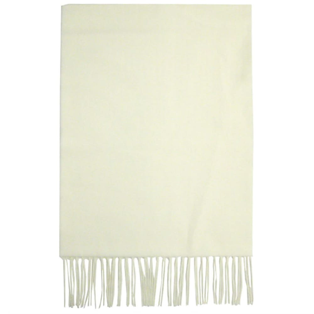 DAVID & YOUNG Women's Softer Than Cashmere Scarf - OFF WHITE